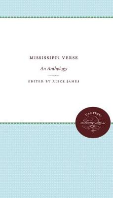 Mississippi Verse: An Anthology (Hardback)