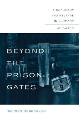 Beyond the Prison Gates: Punishment and Welfare in Germany, 1850-1933 - Studies in Legal History (Hardback)