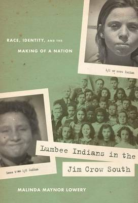 Lumbee Indians in the Jim Crow South: Race, Identity, and the Making of a Nation - First Peoples: New Directions in Indegenous Studies (Hardback)