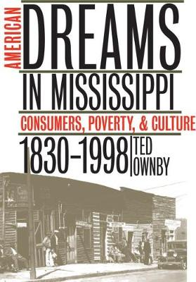American Dreams in Mississippi: Consumers, Poverty, and Culture, 1830-1998 (Paperback)