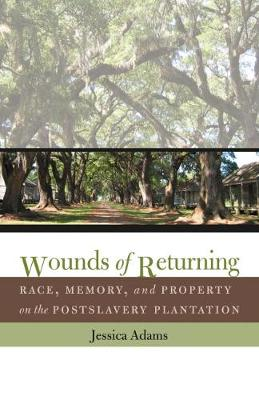 Wounds of Returning: Race, Memory, and Property on the Postslavery Plantation - New Directions in Southern Studies (Paperback)