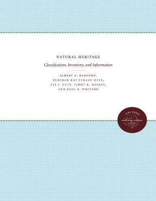 Natural Heritage: Classification, Inventory, and Information (Paperback)