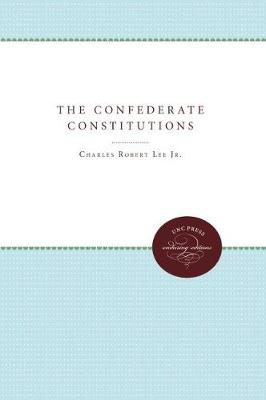 The Confederate Constitutions (Paperback)