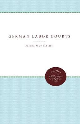German Labor Courts (Paperback)