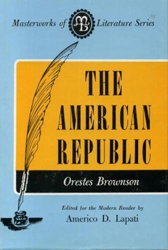 American Republic - Masterworks of Literature (Paperback)