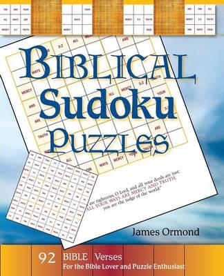 Biblical Sudoku Puzzles (Paperback)