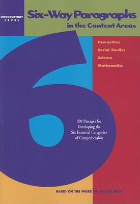 Six-Way Paragraphs in the Content Areas: Introductory (Paperback)