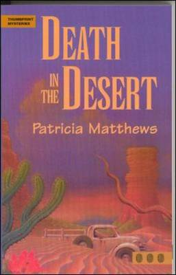 Death in the Desert - Thumbprint Mysteries (Paperback)