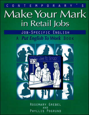 Make Your Mark in Retail Jobs (Paperback)