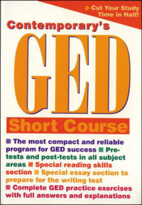 Contemporary's Ged Short Course (Paperback)