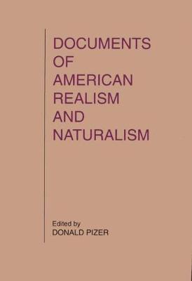 Documents of American Realism (Hardback)