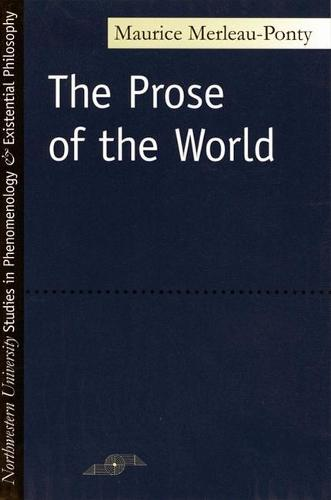Prose of the World - Studies in Phenomenology and Existential Philosophy (Paperback)