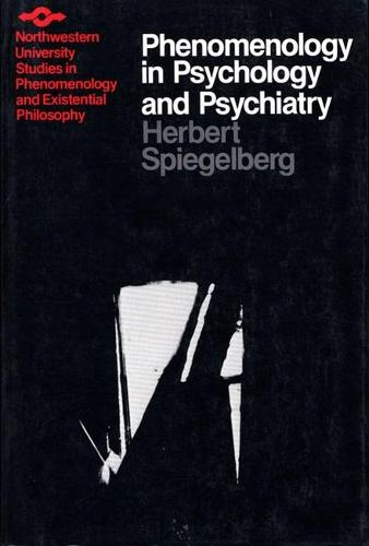 Phenomenology in Psychology and Psychiatry - Studies in Phenomenology and Existential Philosophy (Paperback)