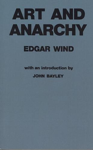 Art and Anarchy (Paperback)