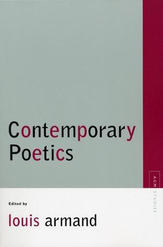 Contemporary Poetics - Avant-garde and Modernism Studies (Paperback)