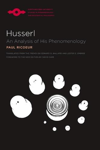 Husserl: An Analysis of His Phenomenology - Studies in Phenomenology and Existential Philosophy (Paperback)