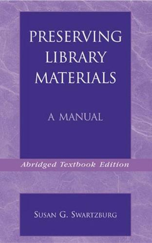 Preserving Library Materials (Paperback)