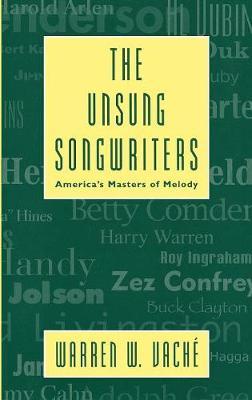 The Unsung Songwriters - Studies in Jazz 34 (Hardback)