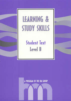 Level B: Student Text: HM Learning and Study Skills Program (Paperback)
