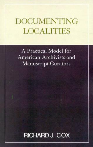 Documenting Localities (Paperback)