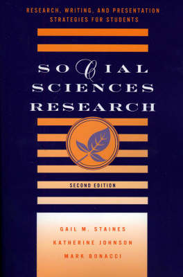 Social Sciences Research: Research, Writing, and Presentation Strategies for Students (Paperback)
