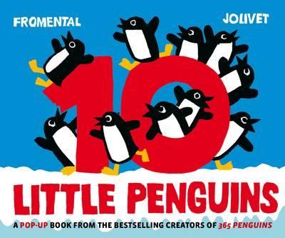 10 Little Penguins Pop-Up (Hardback)