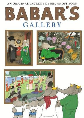 Babar's Gallery (Paperback)