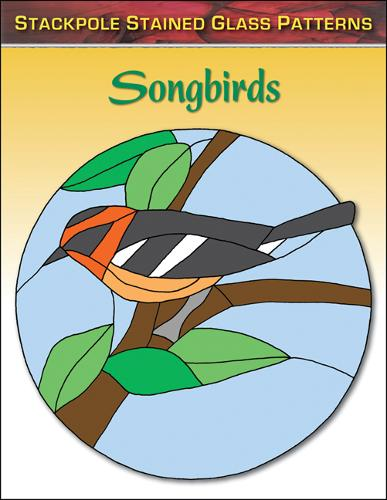 Songbirds: Stained Glass Patterns (Paperback)