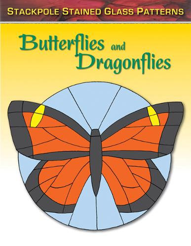 Butterflies and Dragonflies - Stained Glass Patterns (Paperback)