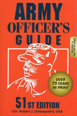 Army Officer's Guide: 51st Edition (Paperback)