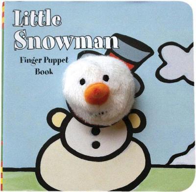 Little Snowman Finger Puppet Book (Board book)