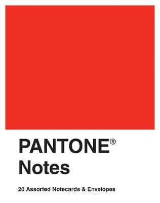 Pantone Notes: 20 Assorted Notecards & Envelopes - Pantone