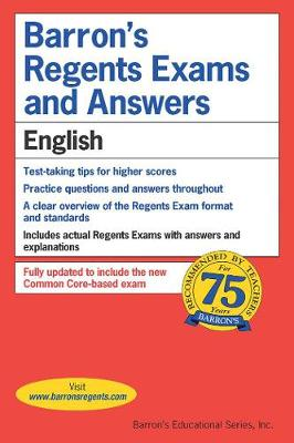 Regents Exams and Answers: English - Barron's Regents NY (Paperback)