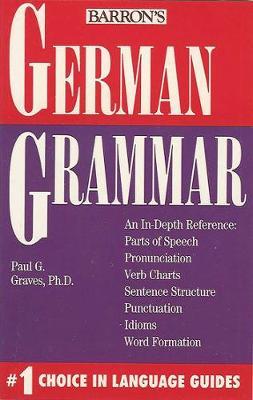 German Grammar - Grammar series (Paperback)
