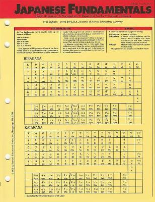 Language Fundamentals: Japanese - Barron's Foreign Language Fundamentals (Paperback)