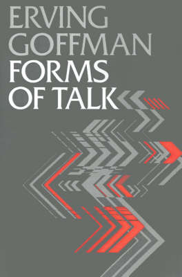 Forms of Talk - Conduct and Communication (Paperback)