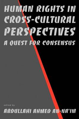 Human Rights in Cross-Cultural Perspectives: A Quest for Consensus - Pennsylvania Studies in Human Rights (Paperback)