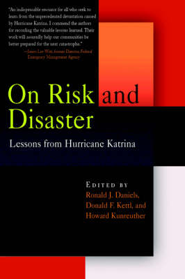 On Risk and Disaster: Lessons from Hurricane Katrina (Paperback)