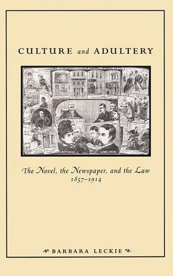 Culture and Adultery: The Novel, the Newspaper, and the Law, 1857-1914 - New Cultural Studies (Hardback)