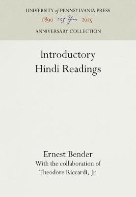 Introductory Hindi Readings (Hardback)