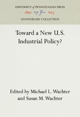 Toward a New U.S. Industrial Policy? (Hardback)