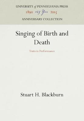 Singing of Birds and Death: Texts in Performance (Hardback)