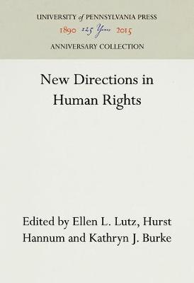 New Directions in Human Rights (Hardback)