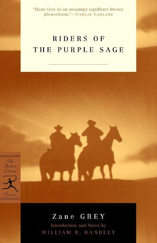 Mod Lib Riders Of The Purple Sage (Paperback)