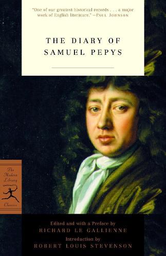 Mod Lib The Diary Of Samuel Pepys (Paperback)