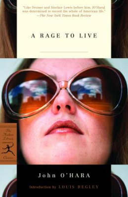 A Rage to Live - Modern Library (Paperback)