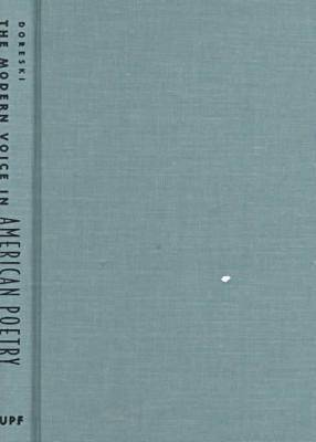 The Modern Voice in American Poetry (Hardback)