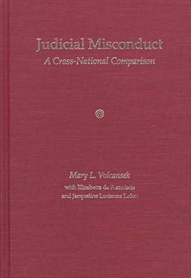 Judicial Misconduct: A Cross-national Comparison (Hardback)