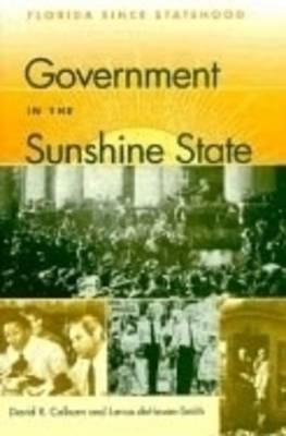 Government in the Sunshine State: Florida Since Statehood - The Florida History and Culture Series (Hardback)