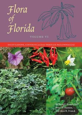 Flora of Florida, Volume VI: Dicotyledons, Convolvulaceae through Paulowniaceae (Hardback)